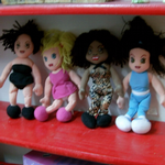 Spice Girls Full set of beanie plush dolls scary posh sporty baby @SOLD@